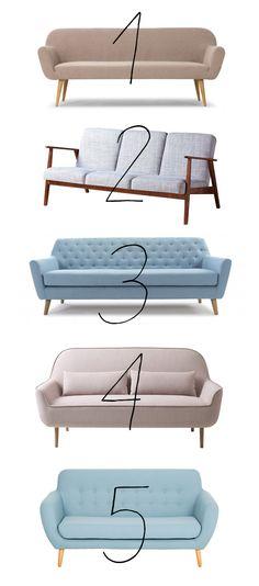 Nummer 3 i annan färg? soffabudget 1. Ditte, 5585:-, Sofakompagniet 2. Ekenäset, 3495:-, Ikea 3. Sally, 6207:-, Sofakompagniet 4. Flower, 6517:-, Ide möbler 5. Wendela, 3995:-, Furniturebox