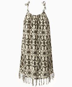 Roxy Kids Dress, Girls Fringe Print Dress - Kids Dresses - Macy's