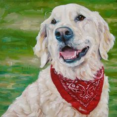 Stylin' Maya CUSTOM Pet Portrait Oil Painting by puciPetPortraits