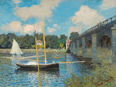 Claude Monet  The Bridge at Argenteuil, 1874