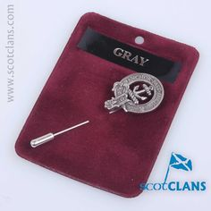 In cast pewter - available from ScotClans