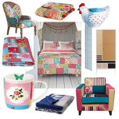Mix and patch, Ditsy Floral and Bright Colors   Housetohome.co.uk
