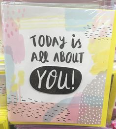 Also from Asda are a selection of greetings cards which being a bit more trend driven also come under the George brand. Hand Drawn Lettering, Types Of Lettering, Pastel Party, Christmas Greetings, Diy Cards, Diy Gifts, Cardmaking, Print Patterns, Birthday Cards