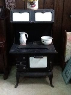 Old Wood Burning cook Stove.(Things I remember when Grandma did the cooking. Living in the deep country without propane or natural gas usage.