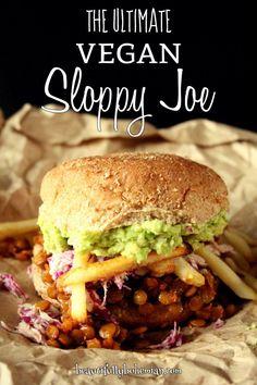 The Ultimate Vegan Sloppy Joe