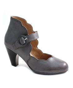 Take a look at this Charcoal Carissa Leather Pump today!