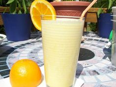 orange creamsicle smoothie--will try and let you know