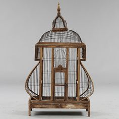 Bilder för 95842. FÅGELBUR, troligen Danmark, 1800/1900-tal. – Auctionet
