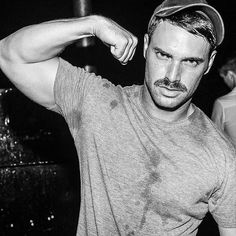 All about the stache Beards And Mustaches, Moustaches, Bear Men, Beard No Mustache, Walrus Mustache, Hairy Chest, Mature Men, Trainer, Trends