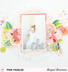 Flowers: Cherish Layout