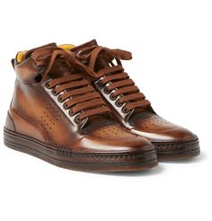 97b394620b0 Berluti's 'Playtime' sneakers are nothing short of exquisite. Mirroring the  sporty basketball shoe