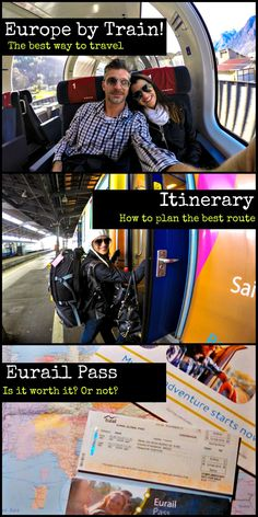 All you need to know to travel around Europe by Train! Best pass, routes and how to save money!