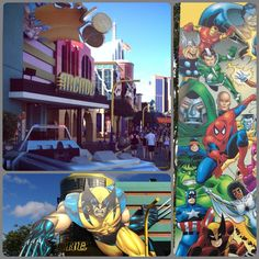 Marvel Universal Studios - Orlando. YESSSSSSSS. I AM SO FREAKING EXCITED. WHO HAS TWO THUMBS AND LOVES MARVEL?! THIS GIRL.