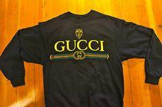 Fruit of the Loom / Gucci Logo Crewneck