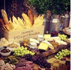 Buffet de fromage - Mariage champètre - misseve