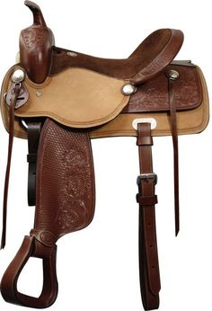 Used Jay Nordley Fully Tooled Roping Saddle For Sale For
