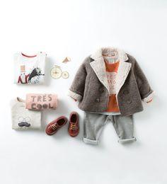 Baby Fashion for Fall - Zara baby boy look Little Boy Fashion, Baby Boy Fashion, Kids Fashion, Newborn Fashion, Zara Boys, Fashion Mode, Baby Kids Clothes, Stylish Kids, Kid Styles