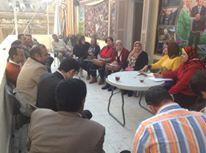 استعدادا لمؤتمر اسكندريه مدينه السلام ٢٠١٦ , لقاءات يوميه للمجلس التنفيذي لمؤتمر المرأه | وكالة أنباء البرقية التونسية الدولية