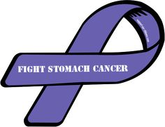 stomach cancer ribbon color | Custom Ribbon: FIGHT STOMACH CANCER