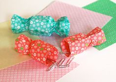 Origami candy boxes