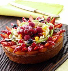 Ricetta Crostata frangipane di frutta