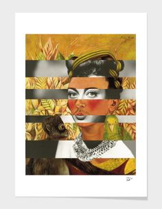 Frida Kahlo's Self Portrait with Parrot & Joan Crawford main illustration