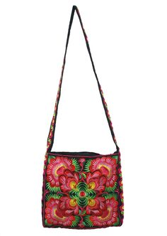 Blossoms Embroidered Bag