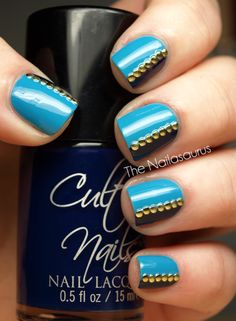 I did this mani three times before I was happy with it today! It started with the vertical line idea but that was boring and too similar to yesterday. Second time round I added some stripes but that wasn't working… View Post