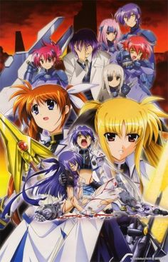 Magical Girl Lyrical Nanoha StrikerS Familia Anime, Nisekoi, Manga, Magical Girl, Image Boards, Shoujo, Lyrics, Photos, Animation