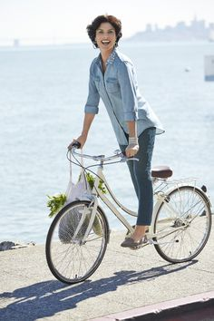 Double Denim with a little extra bling. #DestinationFabulous #spring #chicos