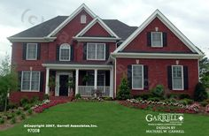 Garrell Associates, Inc.Canterbury 97008,European Style House Plans, Traditional Style House Plans, Design by Michael W. Garrell