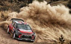 Download imagens Stephane Lefebvre, Gabin Moreau, 4k, WRC, FIA world rally, rally, Citroen C3 WRC
