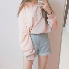 Korean Girl Fashion, Korean Fashion Trends, Korean Street Fashion, Ulzzang Fashion, Teen Fashion Outfits, Girly Outfits, Cute Casual Outfits, Pretty Outfits, 2000s Fashion