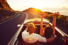 These are the 22 road trips that you should add to your bucket list right away… Vintage Sports Cars, Vintage Cars, Good Dates, French Riviera, Thing 1 Thing 2, Travel Usa, Vacation Travel, Summer Travel, Travel Destinations
