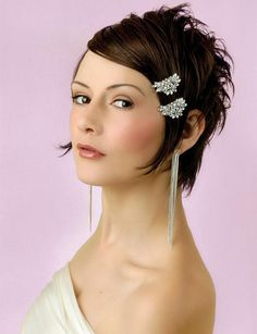 Sexy Short Wedding Hairstyles 2013 - New Hairstyles, Haircuts & Hair Color Ideas