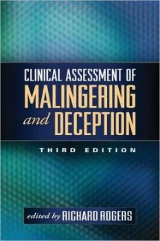 August 2013 Forensic Psychology Book of the Month - Clinical Assessment of Malingering and Deception