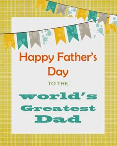 Perspective: free fathers day printable from CCMcAfee {Perspective}