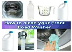 cleaning front load washing machine seal