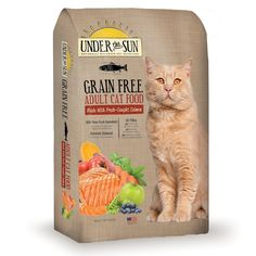 Under the Sun Grain Free Dry Cat Food *** You can get more details here (This is an amazon affiliate link. I may earn commission from it)
