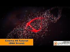 DNA Strand (Cinema 4D - Tutorial) - YouTube