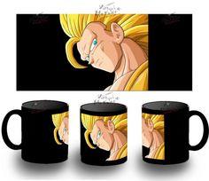Taza Negra Dragon Ball Goku Tercera 3 Bola De Black Mug Tazza Tasse Coupe Mug - Bekiro