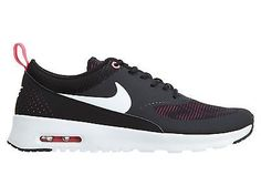 Nike Air Max Thea Se Gs Big Kids 820244-610 Black Pink Girls Shoes Youth Sz 4.5