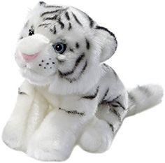 Cachorro de tigre blanco de peluche (20 cm)
