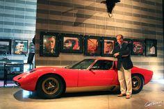 """Fabio Lamborghini and Miura - """"Ferruccio Lamborghini Museum"""" by @getpalmd"""