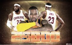 Big Widescreen Wallpaper (2880x1800 pixels) of LeBron James who became the youngest player in NBA History to reach 25.000 career points... Full size can be downloaded at - http://www.basketwallpapers.com/USA/LeBron-James/ :)