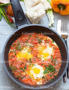 Яичница по-грузински - рецепт с фото