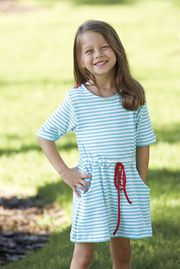 Classic children's clothing with vintage fashion and preppy style.