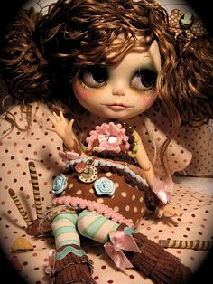 Cupcake doll by Rudy Fig, via Flickr