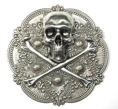 steampunk brooch badge ship sailor bronze pirate Assassin/'s creed black sails