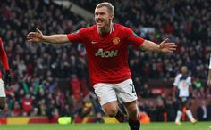 Harry Redknapp says he would pick Manchester United's Paul Scholes for Euro 2012 if he was named England manager